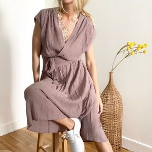 Anthropologie 8.21 Dolman Midi Dress